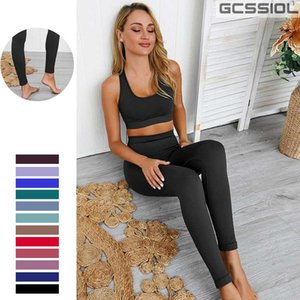 2pcs set Seamless Yoga Suit Sports Bra Sport Set For Women Gym Clothes Fitness Athletic Yoga Set Ombligo