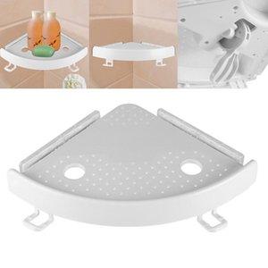 2019 hot faroot Banho Plastic Shelf Qrganizer Canto agarrar acima de armazenamento Prateleiras chuveiro titular Titular parede Shampoo Soap titular