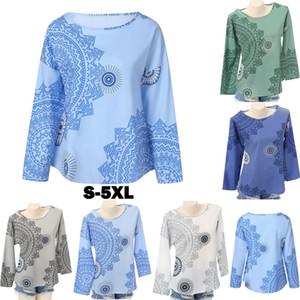Yeni Bayan Casual Uzun Kollu Gömlek Bayanlar Gevşek Mix Mürettebat Boyun Bluz Yaz Casual Şık Şık Bluz Tops