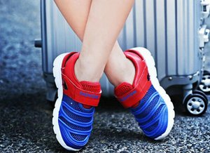 2020 Jeff Sneaker kids Red blue Fashion Casual Shoes Comfortable Mesh Upper light weight