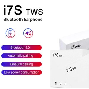 I7 i7s TWO Mini Bluetooth headset with charging Wireless Headset with microphone stereo 5.0 non air box, DHL transport