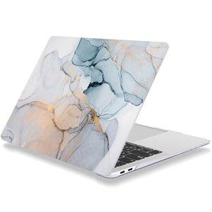맥북 맥북 케이스 프로 / 맥북 에어 라이트 블루 11/12/13/15/16 인치 출시 플라스틱 하드 쉘 노트북 커버 모든 모델 유명