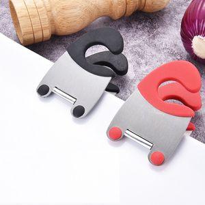 الفولاذ المقاوم للصدأ وعاء كليب الراحة اواني كليب حامل بروتابلي عموم غطاء لوحة مطبخ طبخ أدوات yq00882
