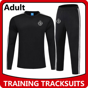 Real Valladolid traje de entrenamiento de fútbol, Real Valladolid pantalones de manga larga abrigo de la formación deportiva de fútbol Sweatershirt chaquetas Operando Conjuntos
