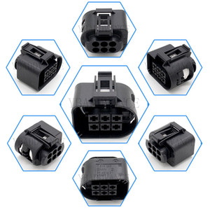 6 Pin G12 G11 Femmina Serie Sealed connettore Alloggiamento 7.519.285 09.401.601 per auto