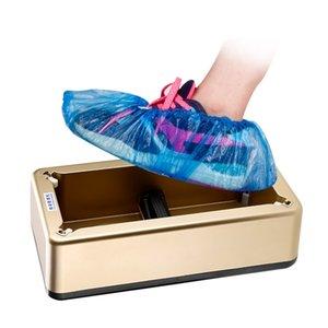 Ayakkabı Kapak Dispenser Otomatik Ayakkabı Kapak Makinesi Hanehalkı Kullanılabilir Ayakkabı Kapak Ev Film Makinesi DHB25 Ayakkabı Stepping