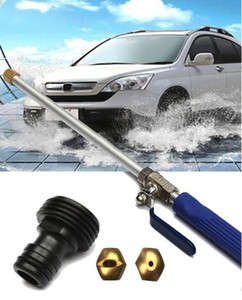 Explosion models high pressure cleaning car water gun nozzle brass long rod watering garden forest