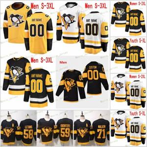 Custom Name Pittsburgh Penguins Eishockey Matt Cullen Jersey Marcus Pettersson Derick Brassard Tanner Pearson Jack Johnson Winter Classic