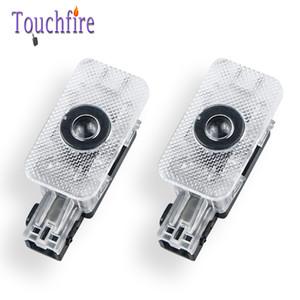 VOLVO S60L S90 S80 XC60 XC90 V60 V40 자동 LED 레이저 프로젝터의 유령 그림자 램프 2 개 자동차 도어 3D에 오신 것을 환영합니다 라이트 브랜드 로고