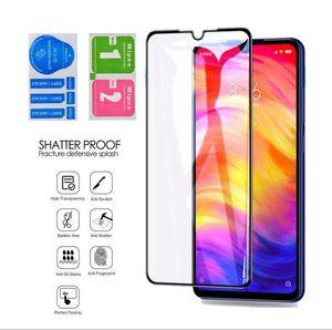 9H completa tampa de vidro temperado ecrã do telefone Protector Para Xiaomi Mi 9 SE 8 Lite CC9 SE redmi K30 K20 Pro Nota 8 7 T Pro 8A 7A 6