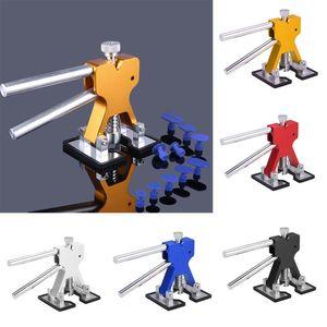 Universal Automotive Paintless Voiture Body Dent Removal Tool Outil De Réparation Automatique Dent Puller Lifter Outils À Main Set 18 Tabs Accessoires