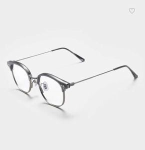Belight Optical Korea Design Metal Retro Vintage Spectacle Frame Men Women Recognition Eyeglasses Retro Optical Eyewear alio