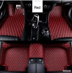 사용자 정의 자동차 바닥 매트를 들어 마즈다 CX-5 CX-7 6 3 6ATENZA 마즈다 5 CX-9 CX-3 MX-5 2009년부터 2014년까지 방수 자동차 액세서리