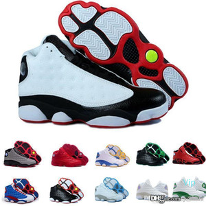 Designer sneakers 13 Online shopping luxury Bred Chicago Flints Men Basketball Shoes 13s DMP Grey Toe History Of Flight Sneakers