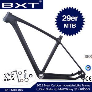 2020 BXT T800 إطار إطار الكربون MTB 29ER الكربون MTB 29 دراجة 142 * 12 أو 135 * 9MM دراجة