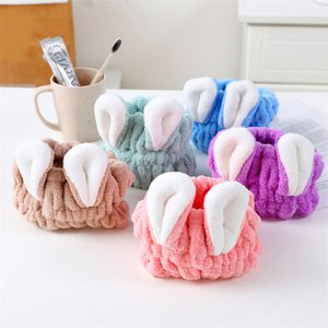 Factory Direct Coral Velvet Hair Caps Absorbent Quick-Drying Cute Absorbent Children's Dry Hair Towel Wholesale