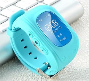 Q50 GPS Tracker Bambini intelligente Guarda SOS chiamata Location Finder Locator Trackers bambini Anti perso Monitor Kid SmartWatch Wearable Devices DHL MQ