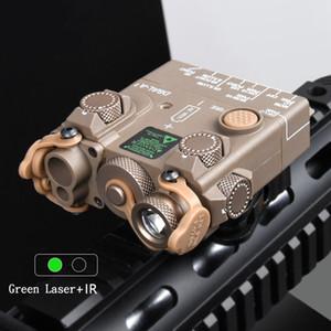 DBAL-A2 PEQ15 Yüksek Güç Yeşil Lazer IR Lazer Pointer Taktik El Feneri Aydınlatma