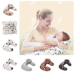 27style Bruststillkissen Baby-Pflege Schwangerschaft Umstands Kissen Infant Cartoon Abnehmbare U-Form Kissen T2G5058