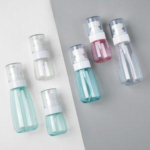 Plástico Viagem Engarrafamento portátil Transparente pequeno frasco de spray névoa Loção espuma Bomba garrafas de água Frascos do pulverizador