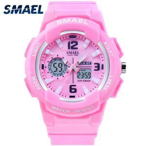 SMAEL Kids Digitaluhren Junge Uhr-Mann-Sport-Uhr-wasserdichte Kinder-LED-Anzeige relogio1643 Kinderuhr für Mädchen Digitalen