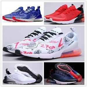 2020 nouvelle AIR nbspMAX 270 homme Wome chaussures de course air 27C Graffiti le sport dégradé baskets MAX 270S chaussures de marche en plein air taille 36-45