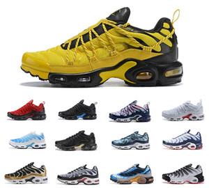 2019 Top Air Nike Air Max airmax AIRMAX Plus TN champagnepapi Mercurial Plus Tn Ultra SE Negro Blanco Naranja Zapatillas para correr Más zapato TN Mujer Hombre Zapatillas Deportivas 36-46