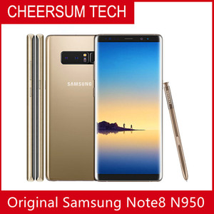 """Samsung Galaxy Note8 Note 8 N950 Original Unlocked LTE Android Cellphone Octa Core 6.3"""" Dual 12MP 6G RAM 64G ROM Snapdragon 835"""