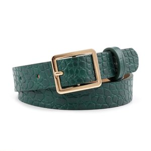 S918 Hot Women's Decoration Slim Belt Eyes Metal Nuddle Buckle Simple PU Leather Belt Jeans Belts