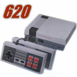 Четыре кнопки прибытия Мини-ТВ Игровая приставка Видео Handheld для NES 620 500 игровых консолей с розничными коробками горячей продажи MQ30