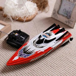Heißer Verkaufs-Radio-Fernbedienung Twin Motor High Speed ​​Boat RC Racing Kinder Outdoor-Rennboot MX200414