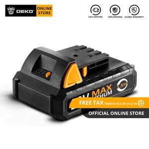 Batteria DEKO originale 20V-Y 20V MAX 1500mAh Batteria agli ioni di litio per trapano a batteria GCD20DU2