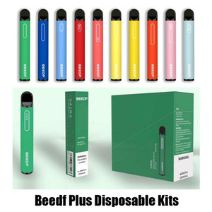 Dispositivo autentica Beedf Inoltre monouso Pod Kit 3 ml preriempita 800 Puff 550mAh Vape Pen Stick Bar sistema 100% originale