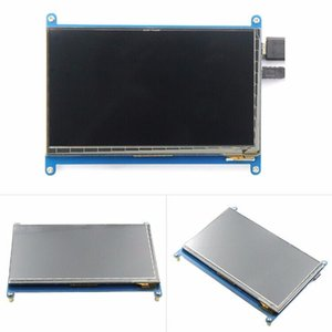 Freeshipping 7 inch Raspberry pi 3 B touch screen 1024*600 7.0 inch Touch Screen LCD H-D-MI interface supports various systems