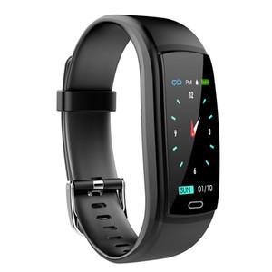 Y9 Inteligente Relógios Monitor de Freqüência Cardíaca de Pressão Arterial Rastreador de Fitness Smartwatch Pulseira Inteligente À Prova D 'Água Para IOS Celular Android Pulseira