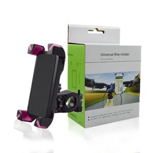 Велосипед держатель телефона Универсальный 360 градусов вращающийся Handlebar Клип Стенд кронштейн для iphone XS MAX XR X Smart Mobile сотовый телефон