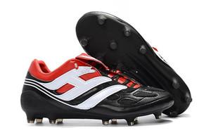 adidassoccer shoes  New Classics Predator Precision Accelerator DB AG Electricité FG V 5 Beckham Devient 1998 98 Hommes Chaussures de soccer Crampons Chaussures de football