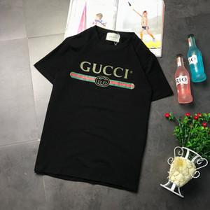 2020 Livraison gratuite vente chaude Designered femmes Hommes T-shirt Fashion Casual T-shirts Printemps de luxe de haute qualité Fille T-shirt 2021202Y