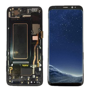 "AMOLED سوبر اختبار 5.8 ""للحصول على استبدال شاشة سامسونج LCD S8 العرض G950F G950U G950W8 G955F تعمل باللمس الجمعية + أدوات"