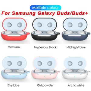 Samsung Galaxy Tomurcuklar Artı Vaka Tüm Uyumlu Yumuşak Silikon Kapak For Galaxy Buds İçin + 2020 Shell Uyumlar Mükemmel Kılıf Şarj