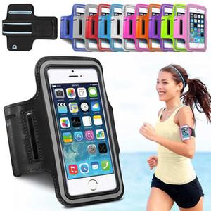 Fundas de teléfono para iPhone X 8 7 6s Funda Sport Arm Band Cinturón Funda Running GYM Bag Funda para xiaomi huawei Samsung Holdel