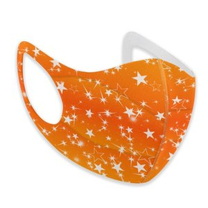 Star Mask Flashing Party American Wallpaper Mouth Dust Face Respirator For Adult Kids Washable Reusable Anti Pollution