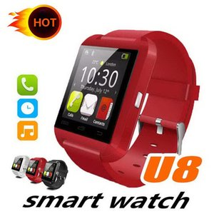Bluetooth Smart Watch U8 Watch Wrist Smartwatch for iPhone 4 4S 5 5S Samsung S4 S5 Note 2 Note 3 HTC Android Phone Smartphones Fashion
