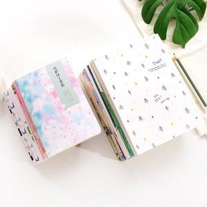 القرطاسية الإبداعية بسيطة فارغة دفتر b5 طالب ممارسة كتاب مذكرات دفتر غلاف ملاحظة سيارة خط a03