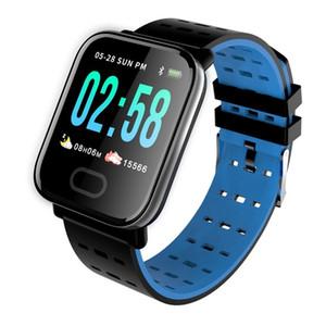 A6 Smart Watches Bracelet Band Reloj Inteligente Pulsometro Ritmo Cardi Fitness Tracker Remote Control Smartwatch Waterproof Wristband Watch