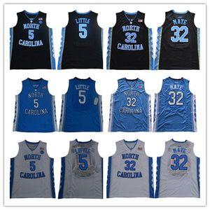NCAA North Carolina Tar Heels College # 23 Michael 5 Nassir Little Mens 15 Carter 32 Luke Maye Barnes Vince 2019 camisetas de baloncesto UNC