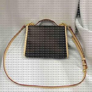 2019 de la moda elementos de diseño de carta de flores en forma de abanico damas hebilla bolso crossbody con el monedero del bolso de las señoras de piel de vaca