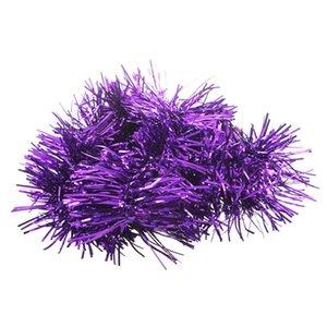 2m (6,5 ft) di Natale Tinsel albero decorazioni Tinsel Garland (viola)