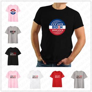 Women Men Joe Biden 2020 The Us Election Letters Printed T-shirt Unisex Summer Top Tees Adults Casual Sports Short Sleeve Shrit Tee D7209