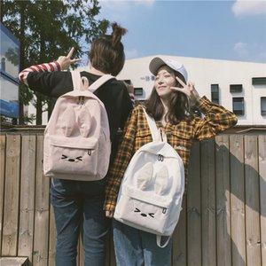 Amazing2019 épaules les deux femme Mori Canvas Sac à dos en velours côtelé Campus Porter Retour Paquet